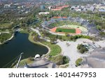 munich   germany april 20  2019 ... | Shutterstock . vector #1401447953