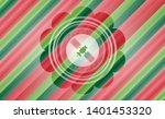 satelite icon inside christmas...   Shutterstock .eps vector #1401453320