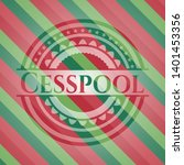 cesspool christmas colors style ...   Shutterstock .eps vector #1401453356