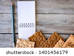 useful dietary  crispbread ... | Shutterstock . vector #1401456179
