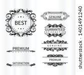 background design frame... | Shutterstock .eps vector #1401491240