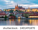 Prague Castle With St. Vitus...