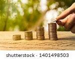 growing time value of money ...   Shutterstock . vector #1401498503