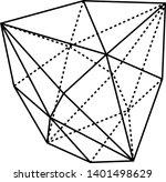 a diagram of hexakistetrahedron ...   Shutterstock .eps vector #1401498629
