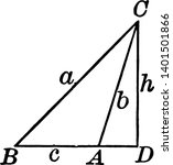 an image of obtuse triangle....   Shutterstock .eps vector #1401501866