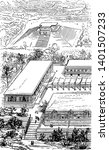 palenque was maya city in...   Shutterstock .eps vector #1401507233
