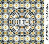 built up arabic style emblem.... | Shutterstock .eps vector #1401510029