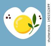 silhouette of the heart.... | Shutterstock .eps vector #1401512699