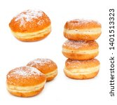 Small photo of Berliner: Donut (Berlin specialty in Germany)