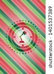 desk lamp icon inside christmas ...   Shutterstock .eps vector #1401537389