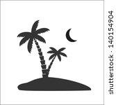palm tree | Shutterstock .eps vector #140154904