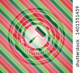 roller brush icon inside...   Shutterstock .eps vector #1401551459