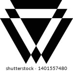 linked triangles. abstract... | Shutterstock .eps vector #1401557480