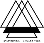 linked triangles. abstract... | Shutterstock .eps vector #1401557486