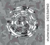 noose on grey camo texture   Shutterstock .eps vector #1401566960
