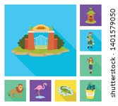 vector illustration of safari ...   Shutterstock .eps vector #1401579050