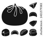 vector illustration of cuisine  ... | Shutterstock .eps vector #1401579383