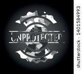 unprotected written on a grey...   Shutterstock .eps vector #1401584993