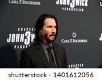 """Small photo of LOS ANGELES - MAY 15: Keanu Reeves at the """"John Wick Chapter 3 Parabellum"""" Los Angeles Premiere at the TCL Chinese Theater IMAX on May 15, 2019 in Los Angeles, CA"""