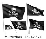Jolly Roger Vector Flags ...
