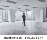 a man in the architecture who... | Shutterstock . vector #1401615149
