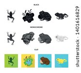 vector illustration of wildlife ... | Shutterstock .eps vector #1401616829