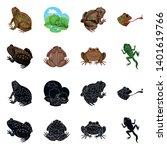 vector design of wildlife and... | Shutterstock .eps vector #1401619766