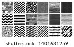 painted patterns. seamless... | Shutterstock .eps vector #1401631259