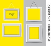 modern frame vector design | Shutterstock .eps vector #140165650