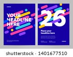 template design with dynamic... | Shutterstock .eps vector #1401677510