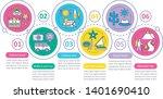 travel experiences vector... | Shutterstock .eps vector #1401690410