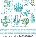 wildlife and safari article... | Shutterstock .eps vector #1401690440