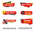set of sale tags. sale ... | Shutterstock .eps vector #1401694370