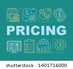 pricing word concepts banner....