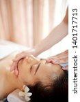 specialist doing rejuvenating... | Shutterstock . vector #1401717713