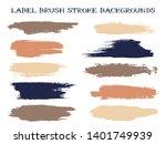 funky label brush stroke...   Shutterstock .eps vector #1401749939