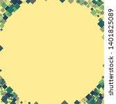 rhombus ornate minimal... | Shutterstock .eps vector #1401825089