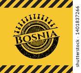 bosnia black grunge emblem ...   Shutterstock .eps vector #1401837266