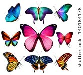 Many Different Butterflies...