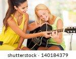 Smiling Beautiful Music Teacher ...