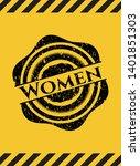 women black grunge emblem ...   Shutterstock .eps vector #1401851303