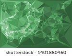 horizontal mosaic banner. low... | Shutterstock .eps vector #1401880460