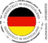 made in germany flag grunge icon | Shutterstock .eps vector #1401883550