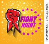 fight night vector modern...   Shutterstock .eps vector #1401885506