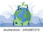 worlds environment day concept. ...   Shutterstock .eps vector #1401887273