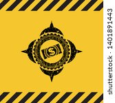 money  dollar bill icon grunge...   Shutterstock .eps vector #1401891443