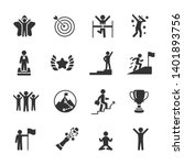 vector set of success icons. | Shutterstock .eps vector #1401893756