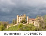 hohenschwangau castle in... | Shutterstock . vector #1401908750