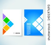 brochure cover design vector template stock vector hd royalty free 140197693 shutterstock