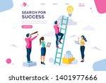 search idea  little success... | Shutterstock .eps vector #1401977666